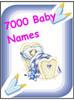Thumbnail 7000 Baby Names