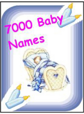 Product picture 7000 Baby Names
